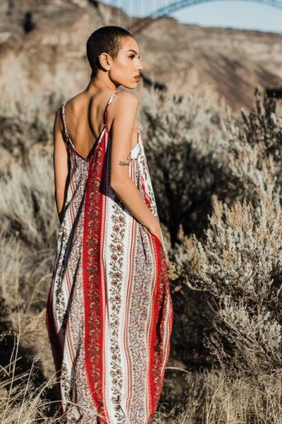 Floral & Paisley Maxi Dress *Final Sale*