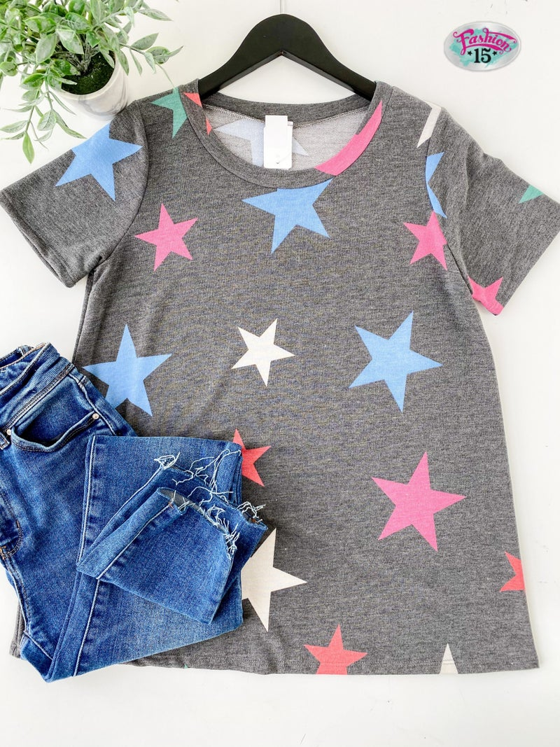 ~Charcoal Star Top