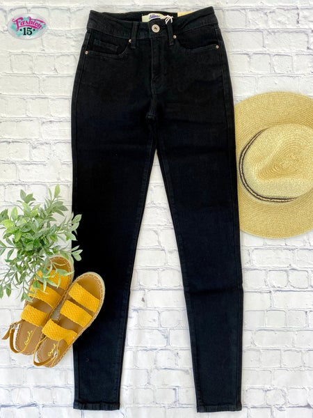 Black Vintage Wash Denim