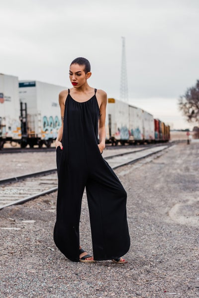 Jumpsuit w/ Side Slit