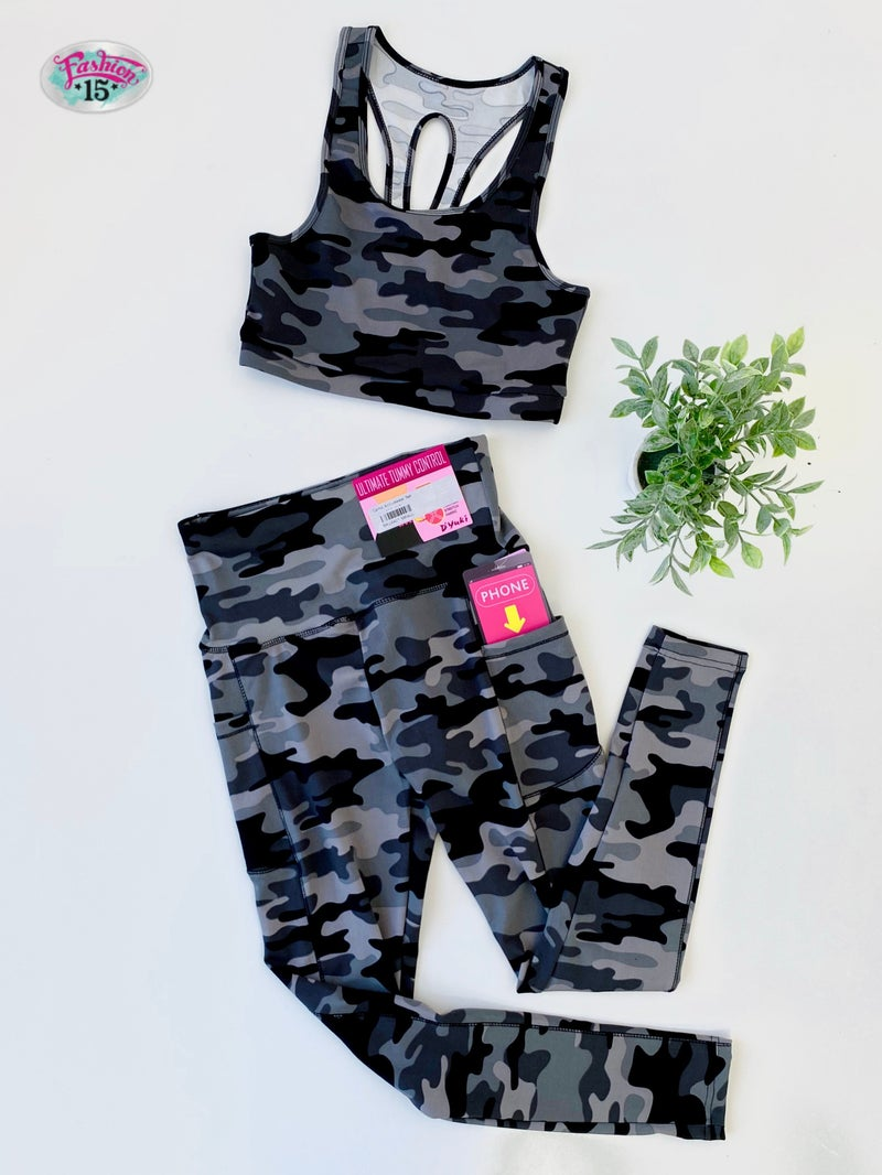 Camo Activewear Set