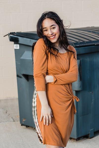 Rust Modal Dress