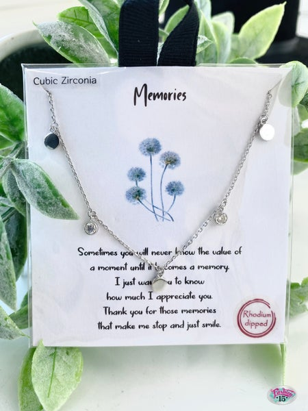 .Memories Necklace