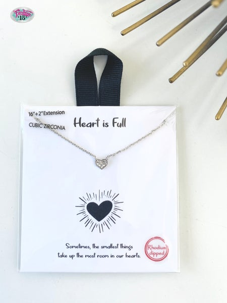 .Heart is Full Necklace