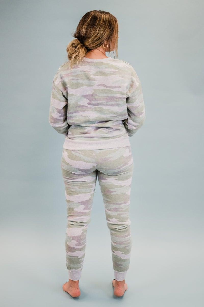 Light Olive Camo Loungewear