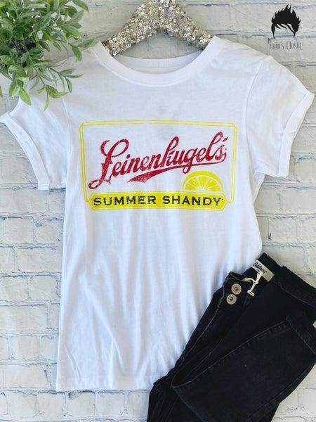 .*Erin's Closet*  Leinenkugel Summer Shandy Graphic *Final Sale*