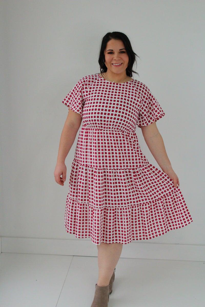Patterend Dress