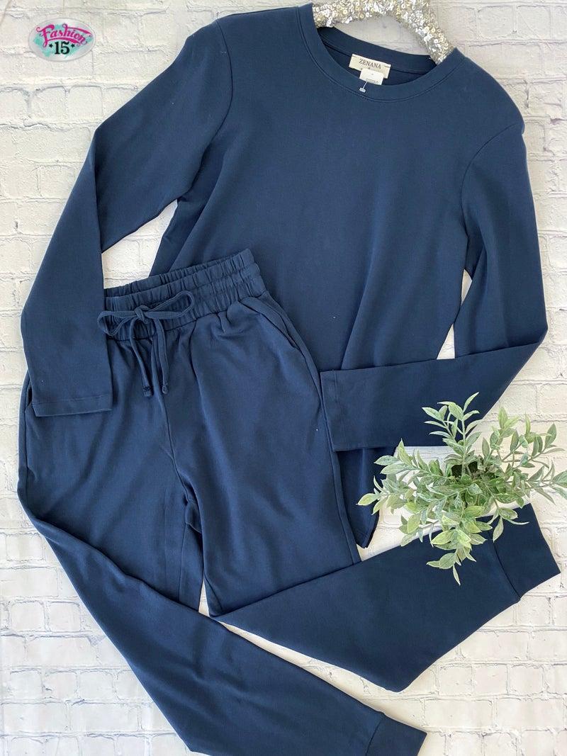 Navy Loungewear