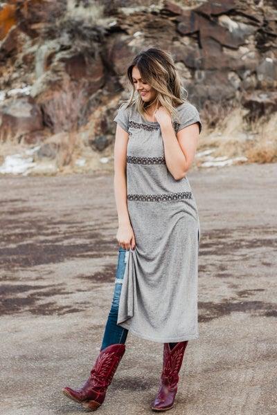 Taupe Tunic Dress