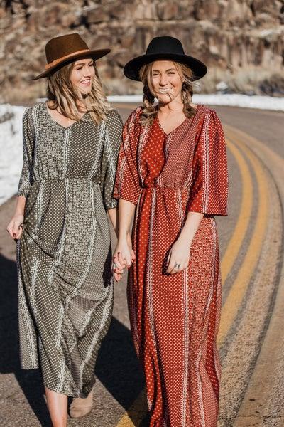 Paisley Maxi Dresss