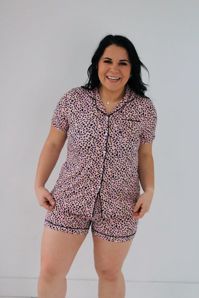 Super Soft Animal Print PJ Set