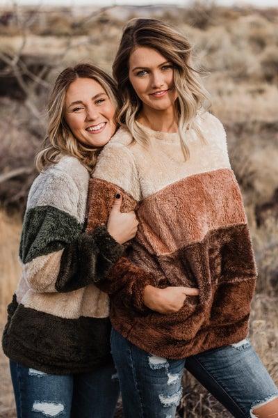 Super Soft Color Block Pullover