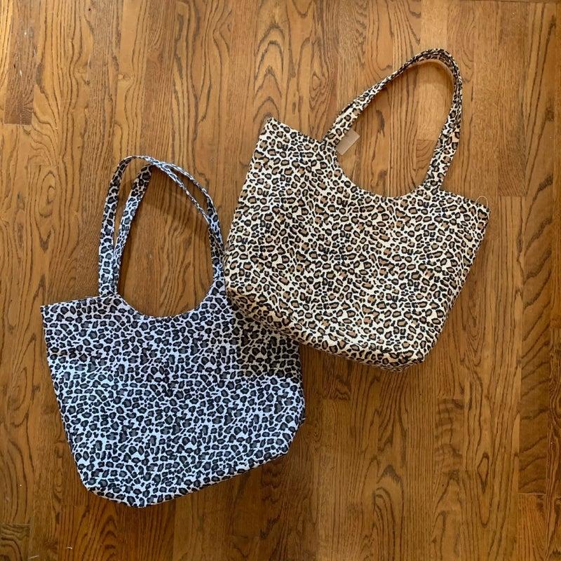 Boutique Item: Leopard Print Tote Bag MJB