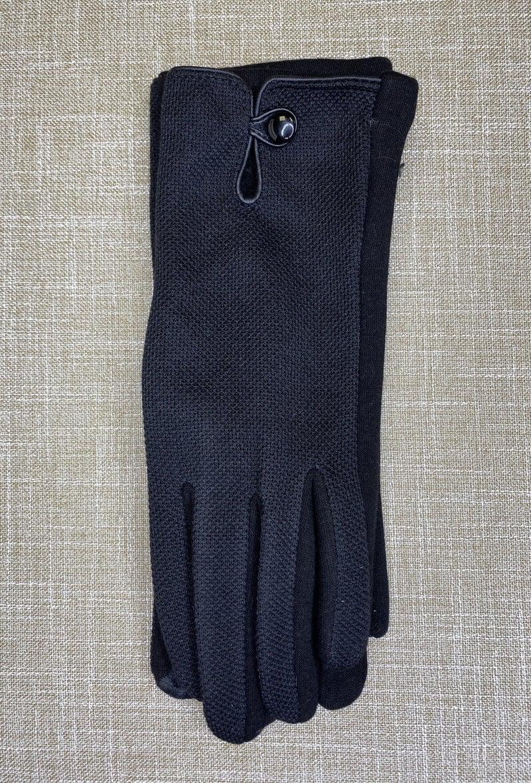 Boutique Item: Tweed Button Gloves MJB (L)