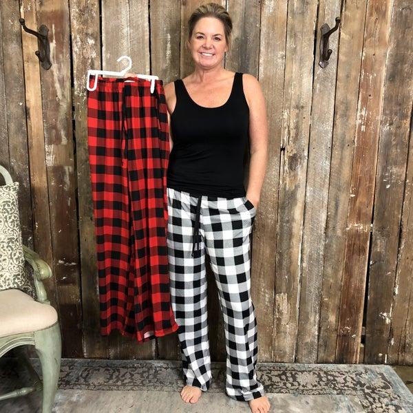 Buffalo Plaid Loungewear Pants (GA2)