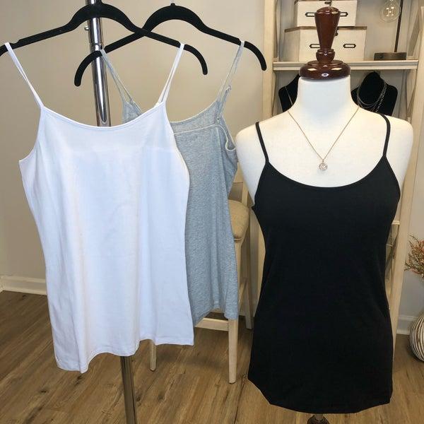 Boutique Item: Cotton Adjustable Cami