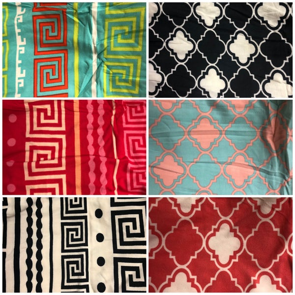 Cute Patterned Leggings One Size Fits Most S-L (GA2)
