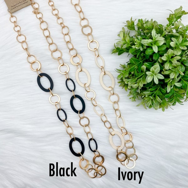 Chunky Linked Chain Necklace