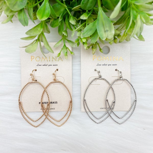 Shimmer Statement Earrings *Final Sale*