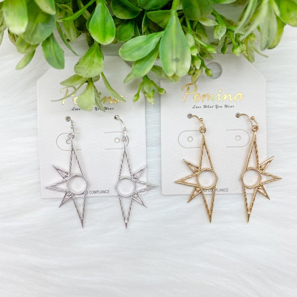 Half Sun Statement Earrings *Final Sale*