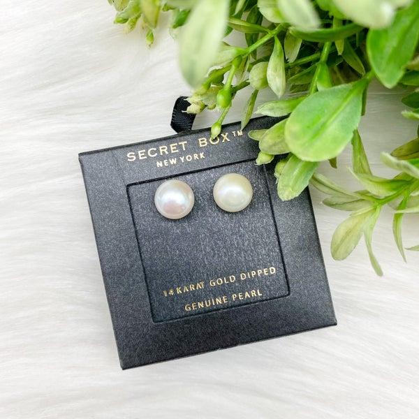 10mm Pearl Stud Earrings