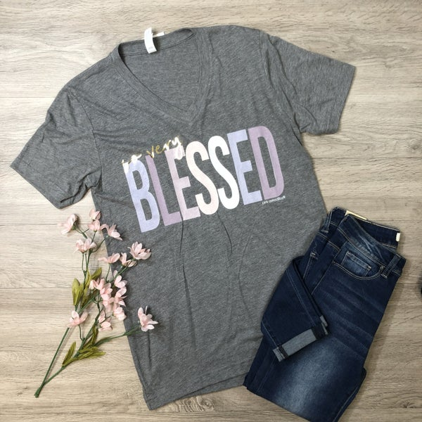 *Kendra's Collection* So Very Blessed Graphic Tee