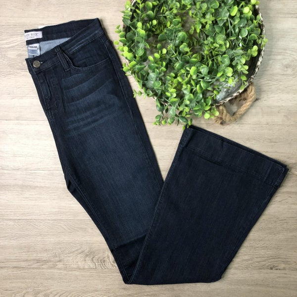 *Kendra's Collection* Flare Denim- Dark