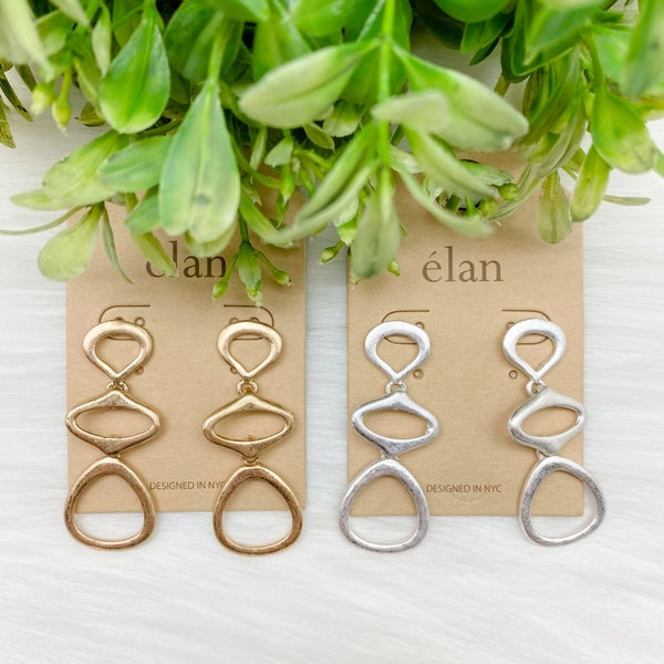 Abstract Tiered Earrings *Final Sale*