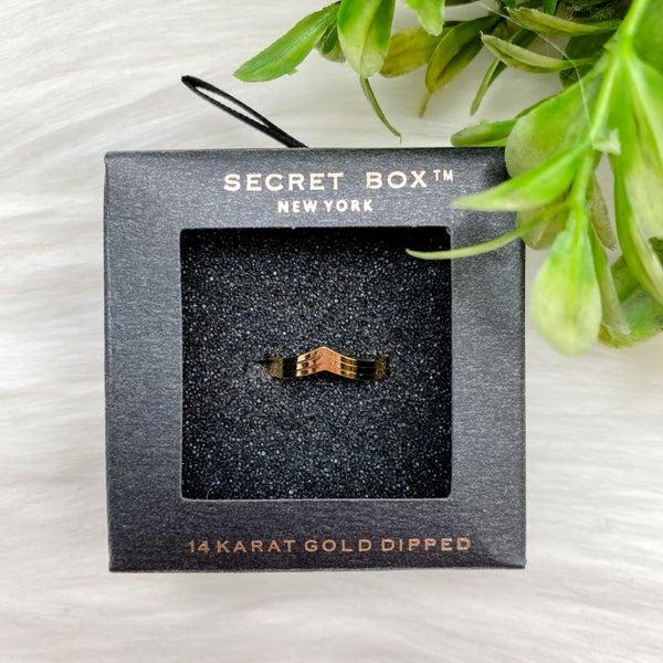 Arrow Single Ring, Gold