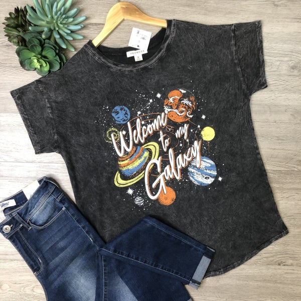 *Kendra's Collection* Graphic Tee - Galaxy