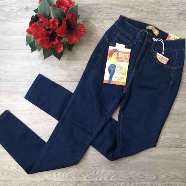 High Rise Push Up Skinny Jean, Medium