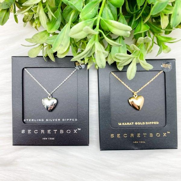 Heart Locket Short Necklace *Final Sale*