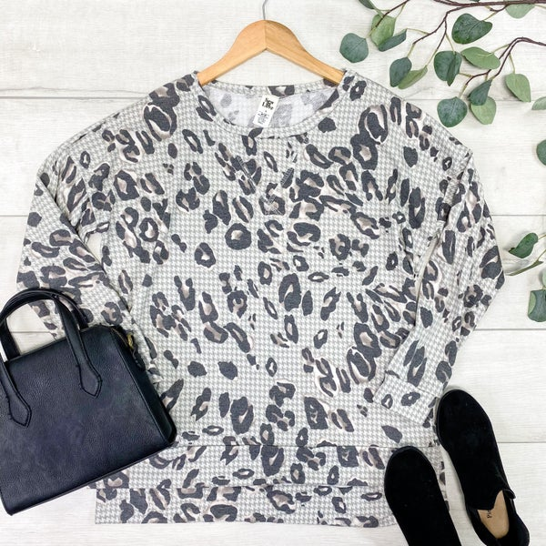 *Kendra's Collection* Leopard Print Tunic Top *Final Sale*
