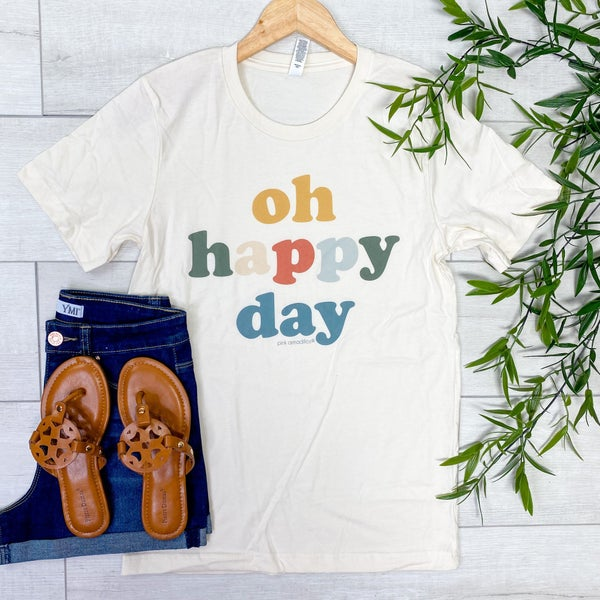 *Kendra's Collection* Oh Happy Day Graphic Tee