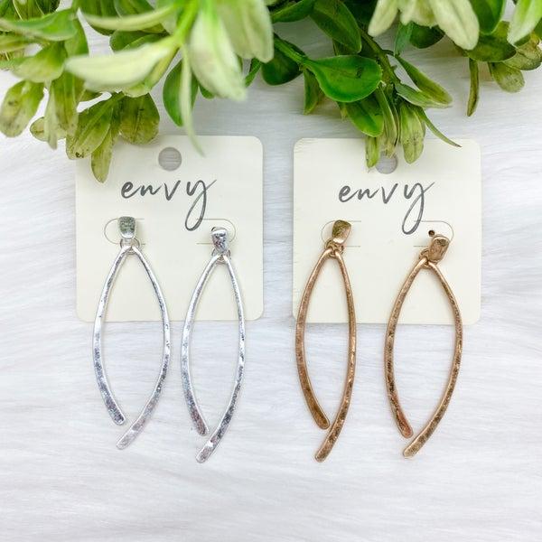 Simple Drop Earrings