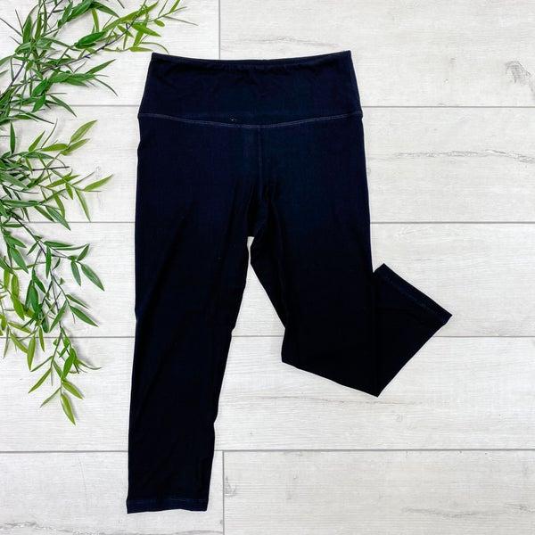 Capri Athletic Legging, Black