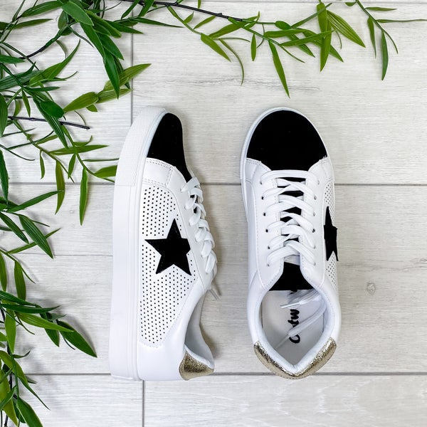 *Shoe Collection* Star Sneaker, Gold