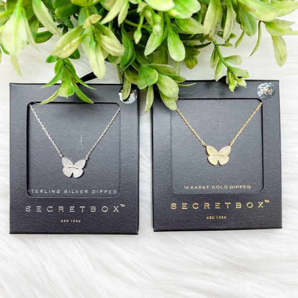 Butterfly Short Necklace
