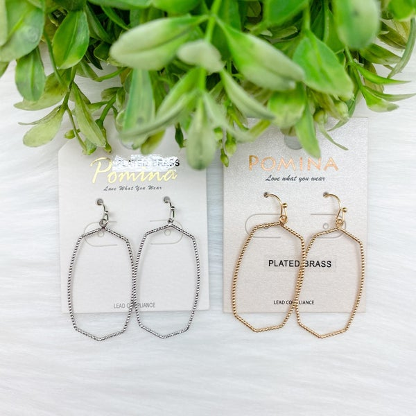 Shimmer Hoop Earrings *Final Sale*