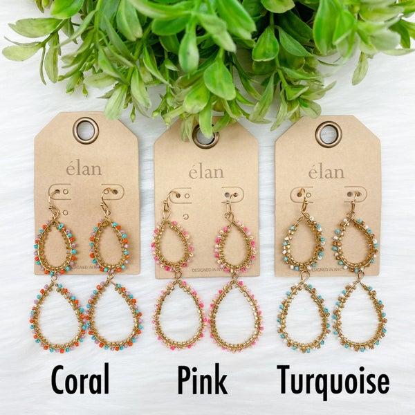 Beaded Tiered Earrings *Final Sale*