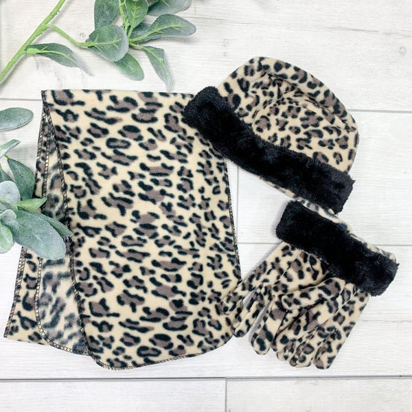 *3 Piece SET* Leopard [[KIDS]] *Final Sale*