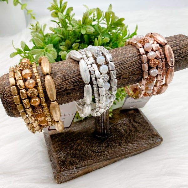 Metal Bracelet Set of Five *Final Sale*