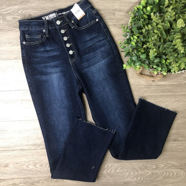 *Denim Collection* High Rise Skinny Jeans- Dark