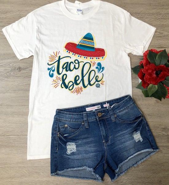 GG-Taco Belle T-Shirt, White