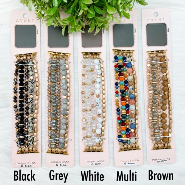 Multi Beaded Apple Watch Band *Final Sale*