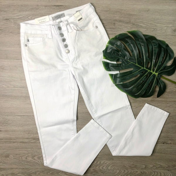 *Kendra's Collection* Skinny Denim- White