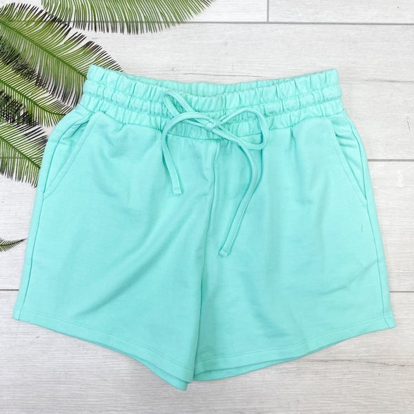 French Terry Shorts, Mint