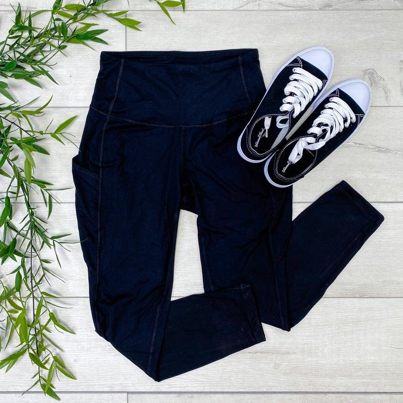 Active Leggings, Black