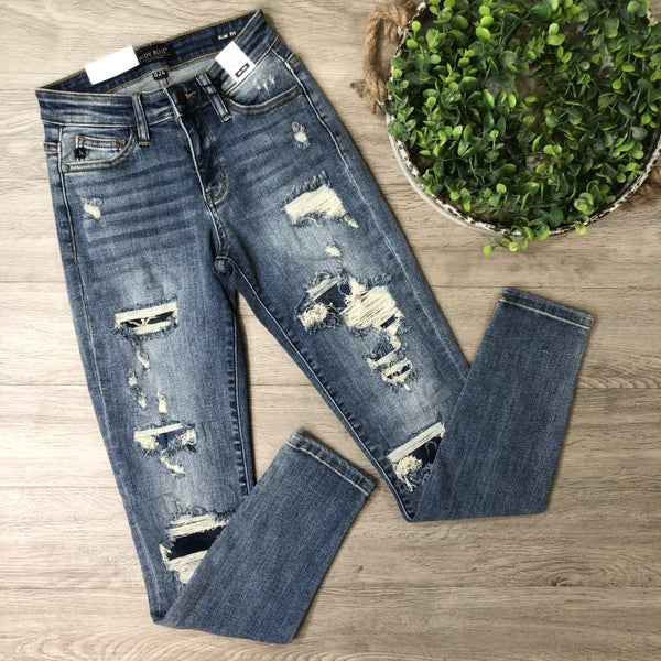 *Kendra's Collection* Distressed Denim