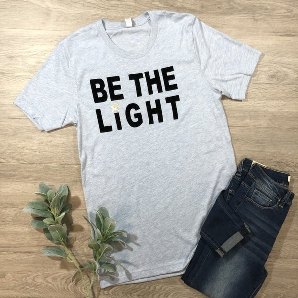 *Kendra's Collection* Be The Light Tee